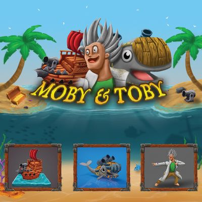 Projektcover von dem Side-scrolling Shooter Moby & Toby