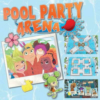 Projektcover von dem Local Multiplayer Pool Party Arena