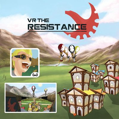 Projektcover von dem Virtual Reality Game VR The Resistance